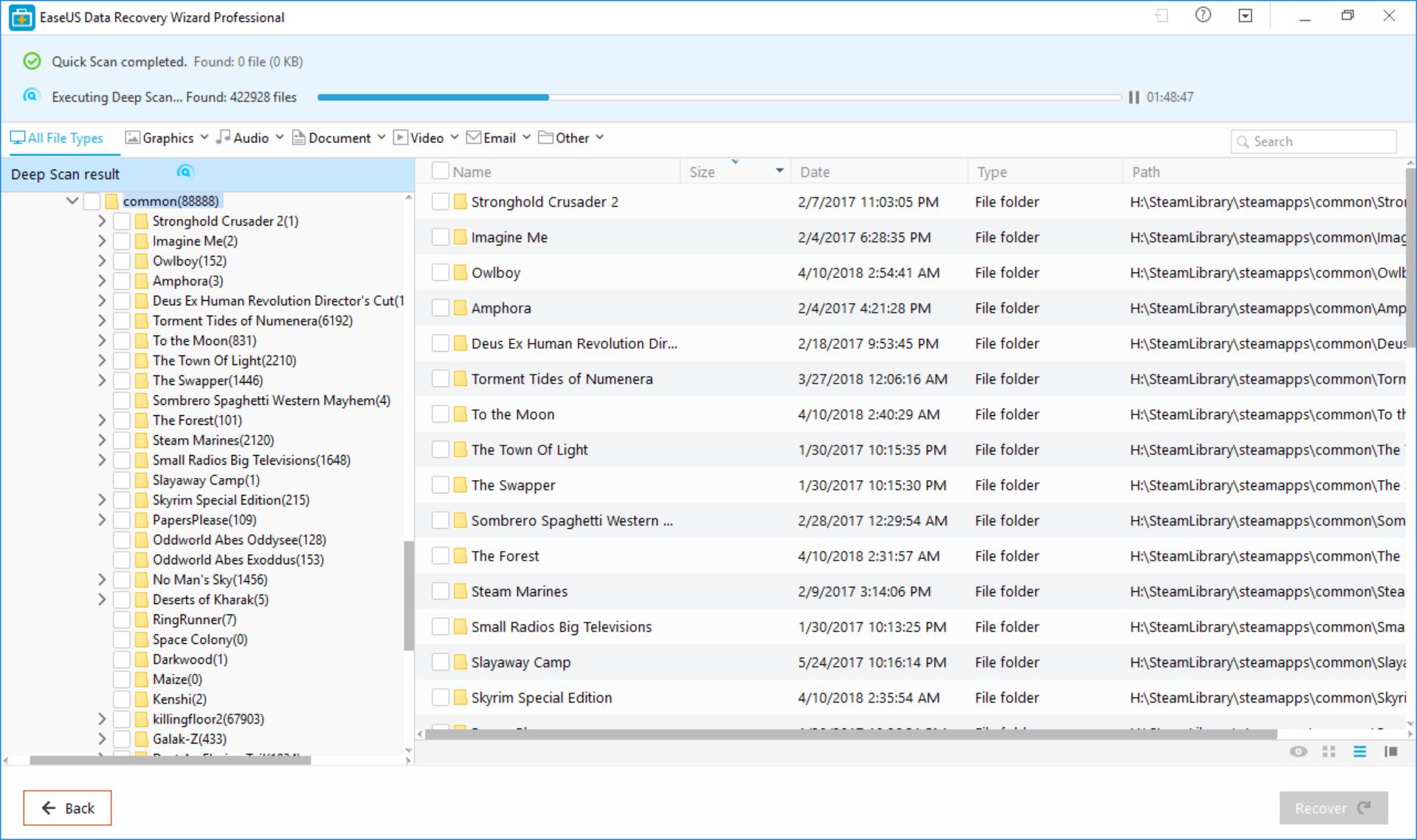 Η επαναφορά αρχείων από σκληρούς δίσκους είναι παιχνίδι: EaseUS Data Recovery Wizard Professional Review – παρουσίαση