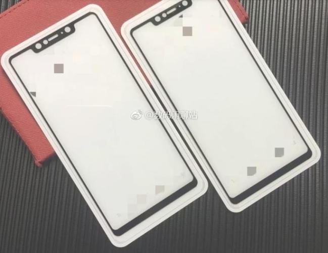 Για κοιτάξτε το εμπρός πάνελ οθόνης από το επερχόμενο Xiaomi Mi 7... 1