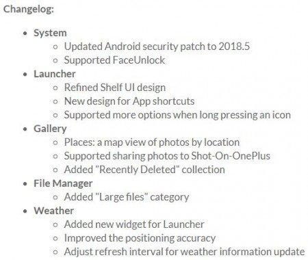 Το OnePlus 3 και το 3T λαμβάνουν ενημέρωση Oxygen 5.0.3 με υποστήριξη της λειτουργίας Face Unlock 1
