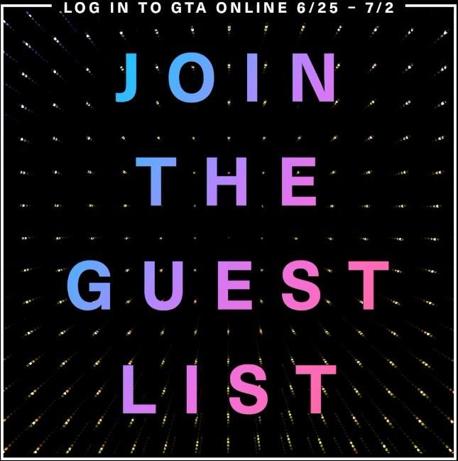 Μπείτε στην Guest List του GTA V για μοναδικά προνόμια! – Geekdom News