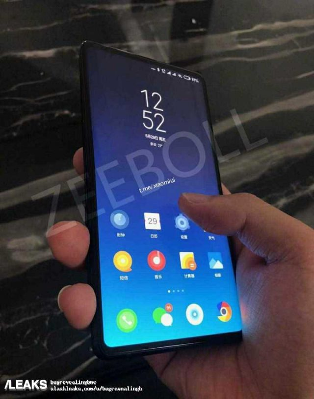 Φάνηκαν νέες πληροφορίες για το Xiaomi Mi Mix 3 1