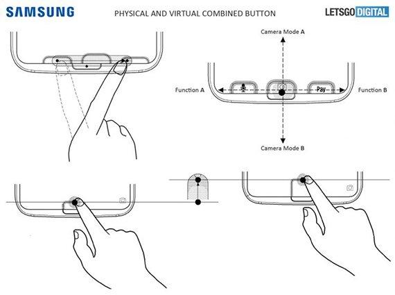 Το νέο δίπλωμα ευρεσιτεχνίας της Samsung δείχνει νέο σύστημα αισθητήρα δαχτυλικών αποτυπωμάτων στην οθόνη 1