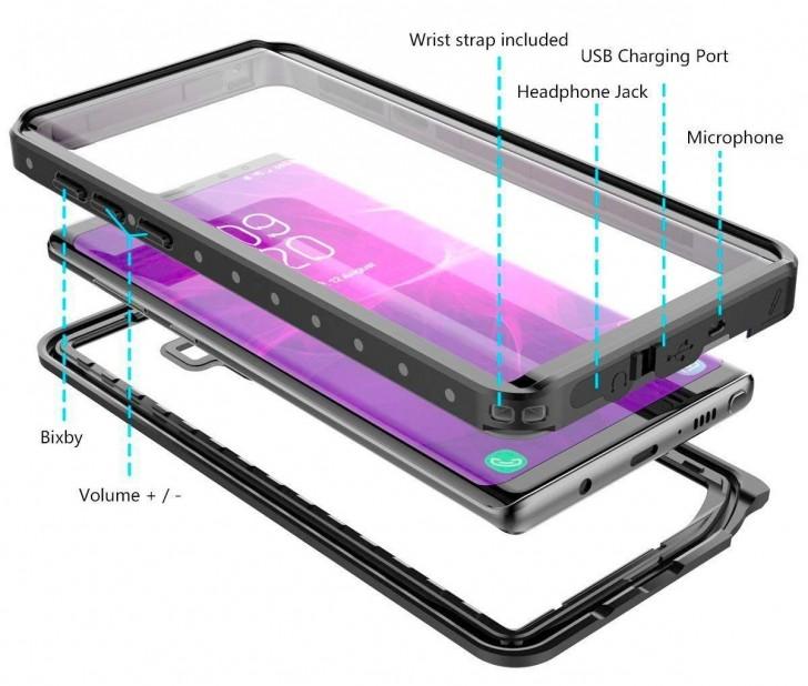 Νέα θήκη για το Samsung Galaxy Note9 επιβεβαιώνει το κουμπί Bixby και την υποδοχή ήχου των 3,5 mm 1