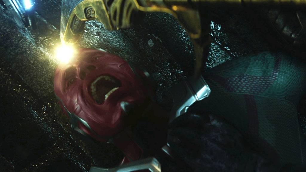 Still of Vision from Avengers Infinity War trailer 1024x576 5 δυνατότεροι/3 πιο αδύναμοι χαρακτήρες μετά το Infinity War!   Geekdom Cinema/TV