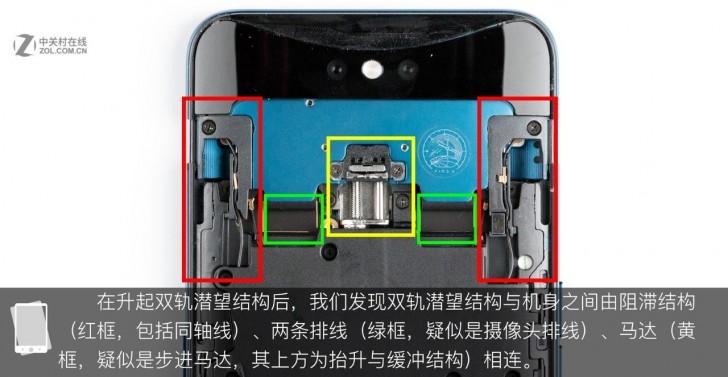 Oppo Find X: Ένα νέο teardown δείχνει να φέρει παρόμοιο αναδυόμενος μηχανισμό κάμερας όπως το vivo NEX 1