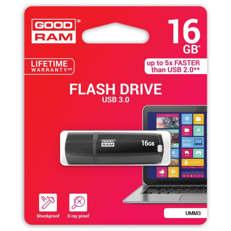 Goodram UMM3 16GB 3 0 black 1 800x800 [offers]: Summer Sales..... με TOP αξεσουάρ από το www.MyGad.gr!