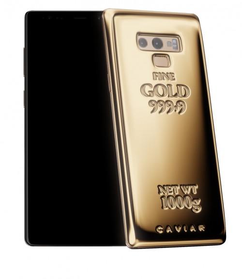 Το Samsung Galaxy Note 9 της Caviar έχει 1 κιλό καθαρού χρυσού στην πλάτη του 1
