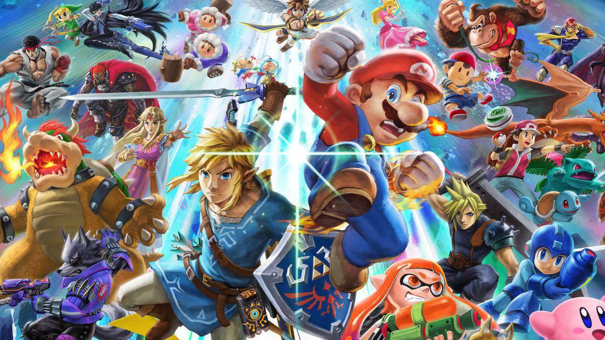 smash illo.0 Η Nintendo ανακοίνωσε τα παιχνίδια για τη Gamescom 2018   Geekdom News