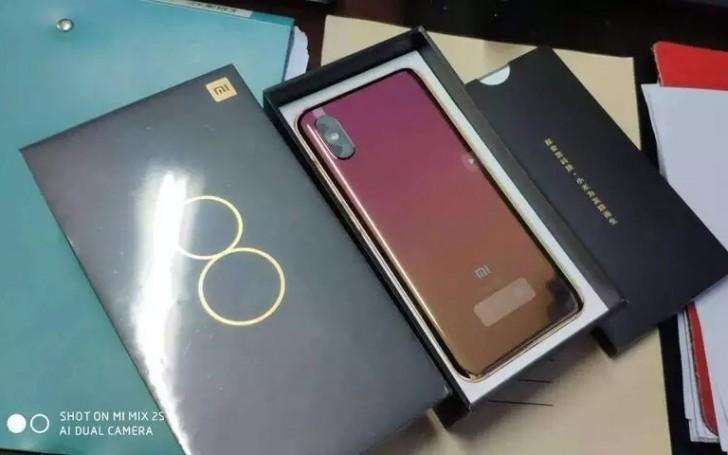 Μια ιδιαίτερη κόκκινη απόχρωση του Xiaomi Mi 8 Screen Fingerprint Edition 1