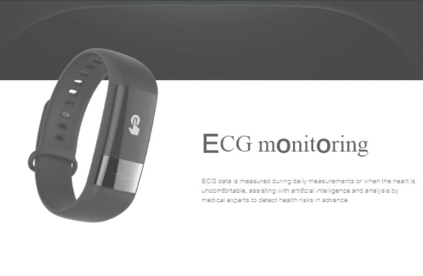 Huami's Amazfit Health Band 1S:  Φέρει αισθητήρα ECG με συνεχή παρακολούθηση του καρδιακού σας ρυθμού 1