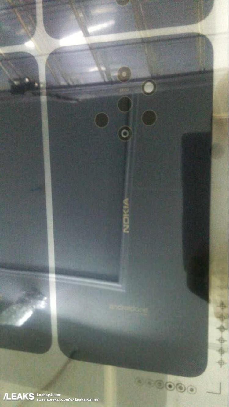 """Διαρροή εικόνας του Nokia 9 διαδικτυακά αποκαλύπτει """"γελοία"""" διάταξη κάμερας 1"""