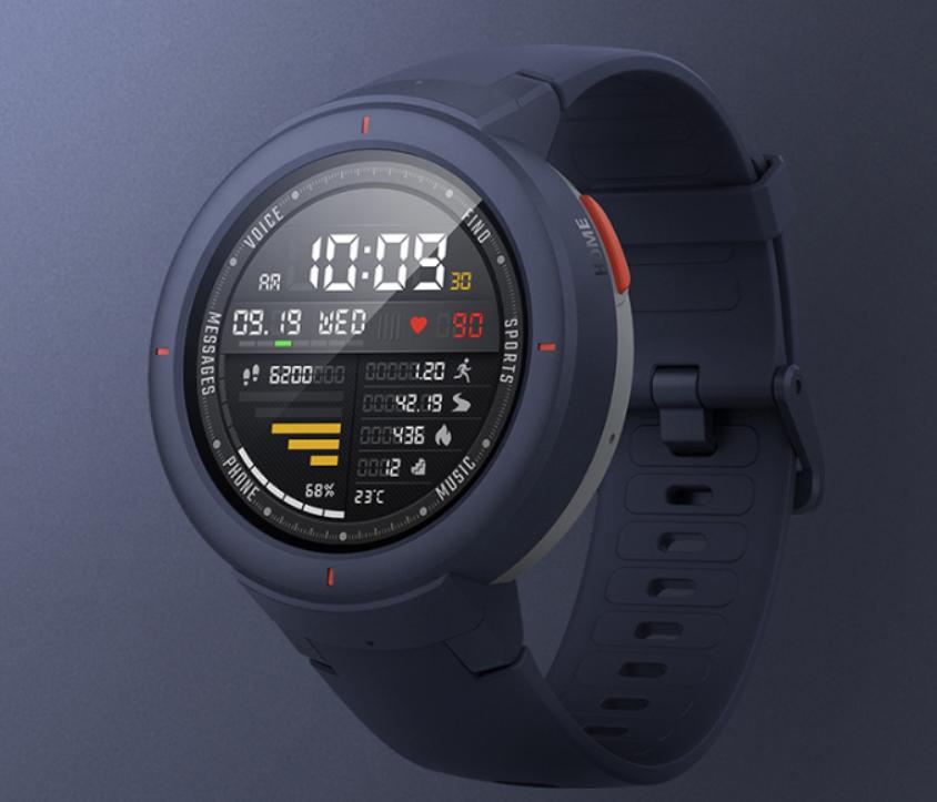 Amazfit Verge Smartwatch: Φέρει επιλογή παρακολούθησης της καρδιακής συχνότητας, NFC και αυτονομία 5 ημερών 1