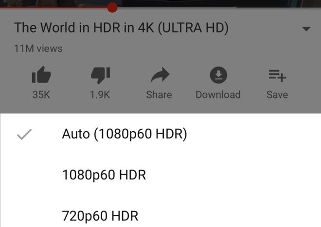YouTube: Πρόσθεσε την υποστήριξη αναπαραγωγής βίντεο HDR στο iPhone XS και XS Max 1