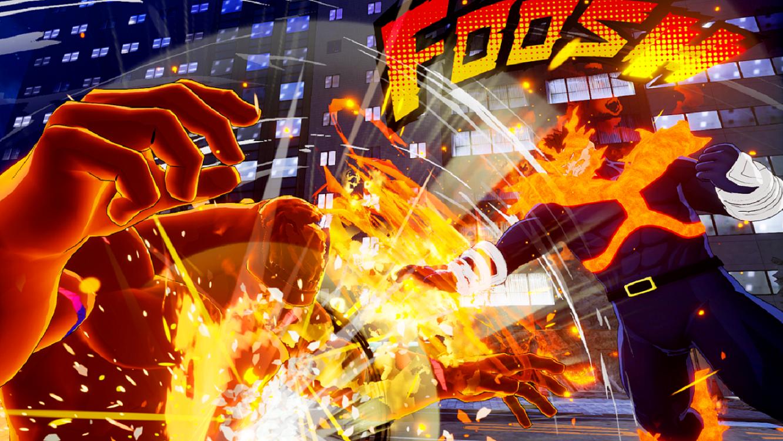 Ο Endeavour στο ring του MY HERO ONE'S JUSTICE! - Geekdom News 12