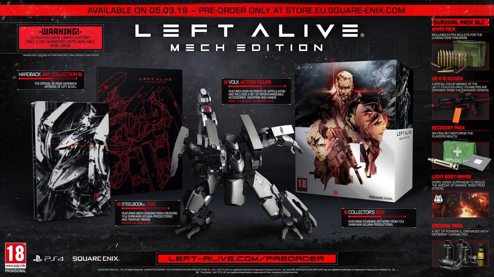 LEFT ALIVE νέος τίτλος από την Square Enix - Geekdom News 1