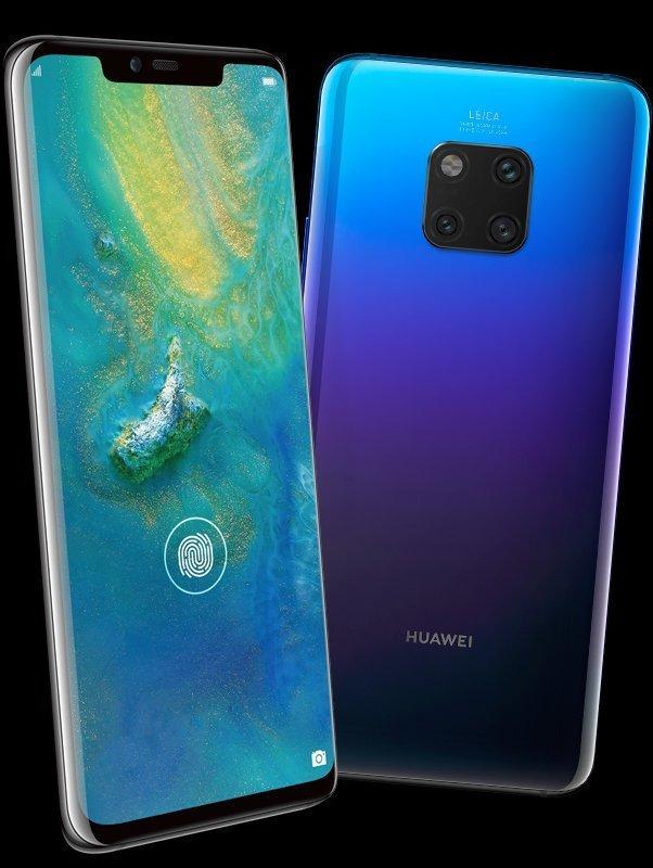Προβολή και πάλι για το επερχόμενο Huawei Mate 20 Pro στην απόχρωση Twilight 1