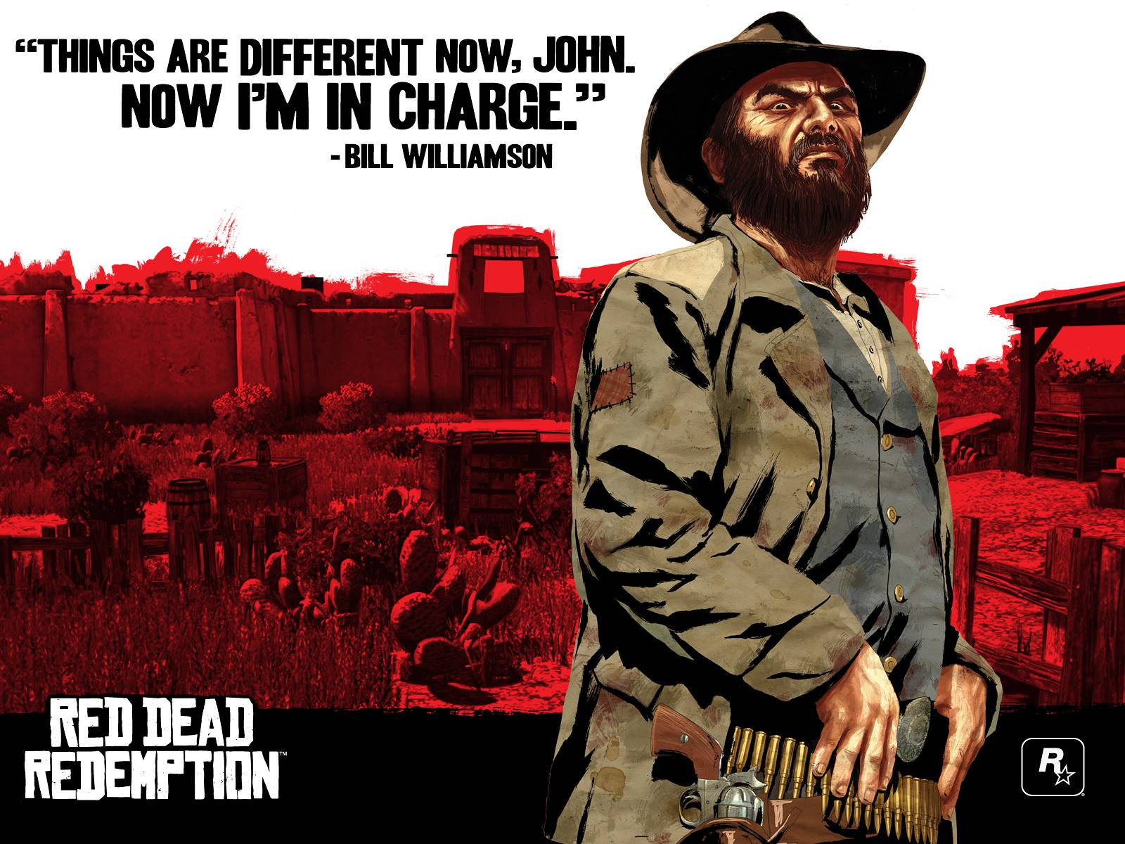 Official artwork   Bill Williamson Red Dead Redemption: Η Ιστορία part 1 – Geekdom Guides