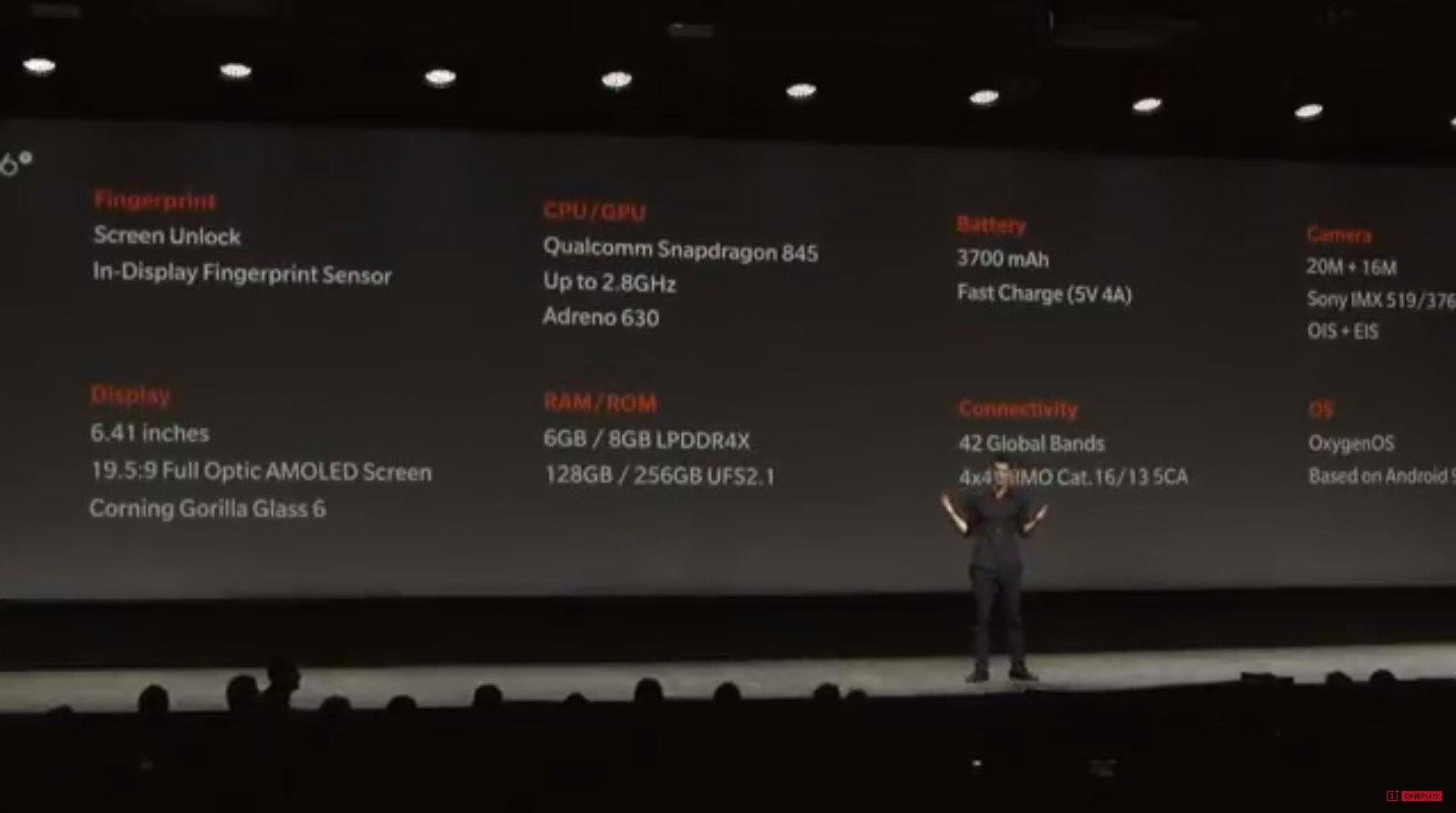 Θαυμάστε το.... επίσημα το νέο OnePlus 6T! 4