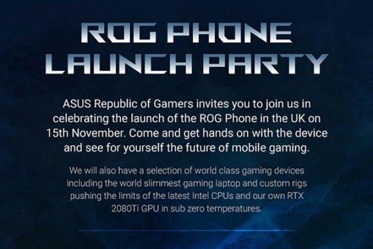Asus ROG Phone: Φθάνει και στο Ηνωμένο Βασίλειο το νέο gaming smartphone στις 15 Νοεμβρίου 1