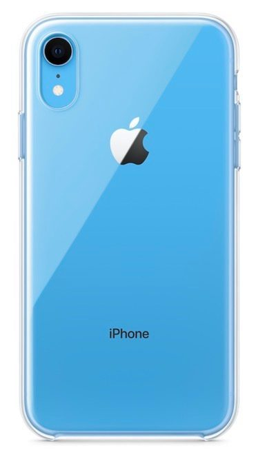Αυτή είναι η επίσημη διάφανη θήκη της Apple για το πολύχρωμο iPhone XR 1