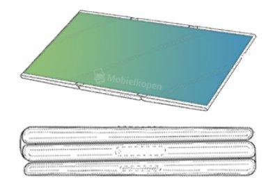 Το αναδιπλούμενο tablet της Samsung αποκαλύπτεται σε ακόμα ένα δίπλωμα ευρεσιτεχνίας