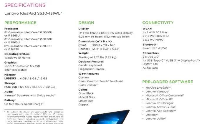 Tα επόμενα laptop's της Lenovo θα έχουν την 9η γενια επεξεργαστών της Intel