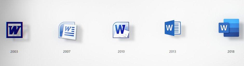 Η Microsoft αποκαλύπτει τον μεγάλο επανασχεδιασμό των εικονιδίων της εφαρμογής Office 1