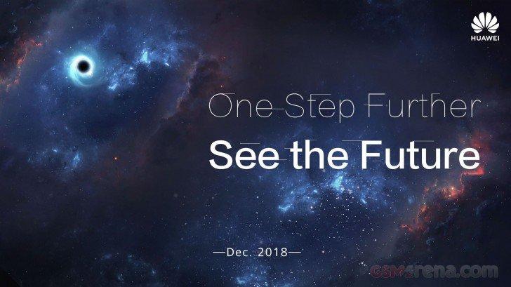 Νέα αφίσα της Huawei αφήνει υπόνοιες για την άφιξη νέου smartphone με οθόνη τύπου Infinity-O 1