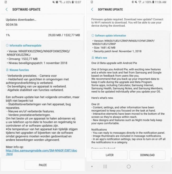 Ξεκίνησε beta πρόγραμμα του Galaxy Note9 σε Ινδία, Γερμανία και ΗΠΑ 1