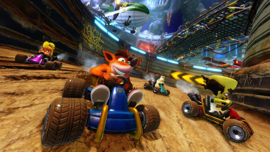 To Crash Team Racing Nitro-Fueled είναι γεγονός! – Geekdom News