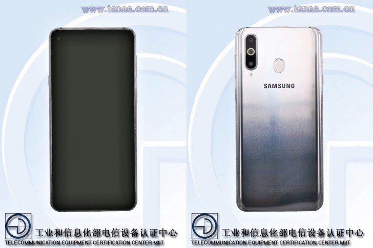 Έχουμε άλλη μια προβολή του Samsung Galaxy A8s μέσω της TENAA 1