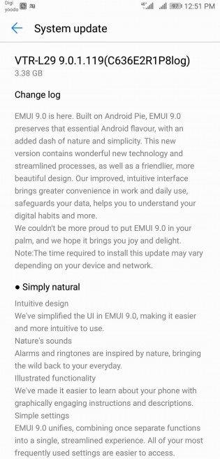 Το EMUI 9 αρχίζει να φθάσει και στις global μονάδες Huawei P10