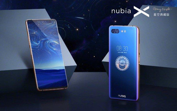Το ZTE nubia X Starry Night με 512 GB φτάνει για προ-παραγγελία 1