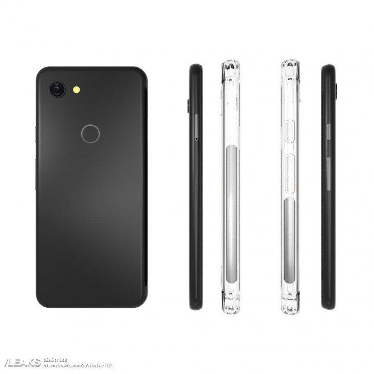 Nέες διαρροές θηκών για το Google Pixel 3 Lite 1
