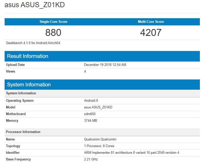 Το ASUS Zenfone 4 τρέχει το Android 9 Pie 1
