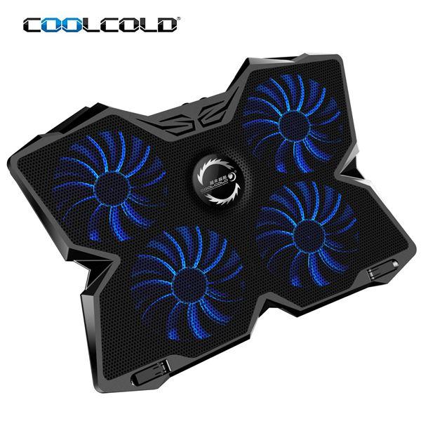 """Μην ζορίζεις το laptop σου, πάρε το σύστημα ψύξης """"Coolcold Ice Magic 2 Cooling Pad"""" 3"""