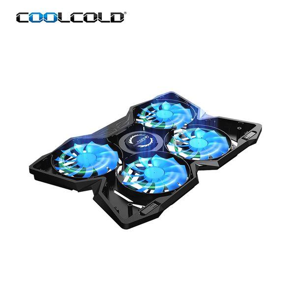 """Μην ζορίζεις το laptop σου, πάρε το σύστημα ψύξης """"Coolcold Ice Magic 2 Cooling Pad"""" 4"""