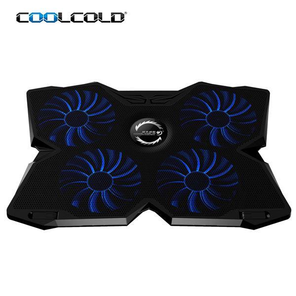 """Μην ζορίζεις το laptop σου, πάρε το σύστημα ψύξης """"Coolcold Ice Magic 2 Cooling Pad"""" 5"""