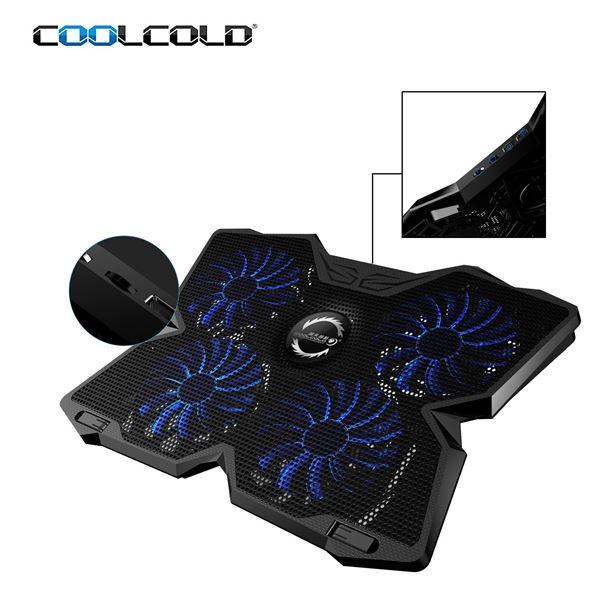 """Μην ζορίζεις το laptop σου, πάρε το σύστημα ψύξης """"Coolcold Ice Magic 2 Cooling Pad"""" 6"""