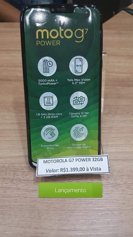 Οι live φωτογραφίες του Moto G7 Power επιβεβαιώνουν τις προδιαγραφές και αποκαλύπτουν την τιμή του 2