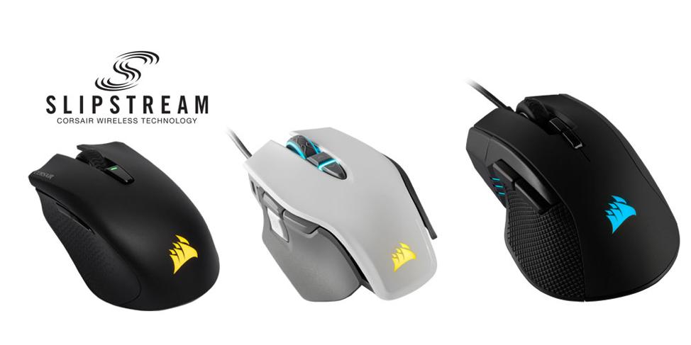 Η Corsair εγκαινιάζει στην CES τρία νέα gaming ποντίκια 3