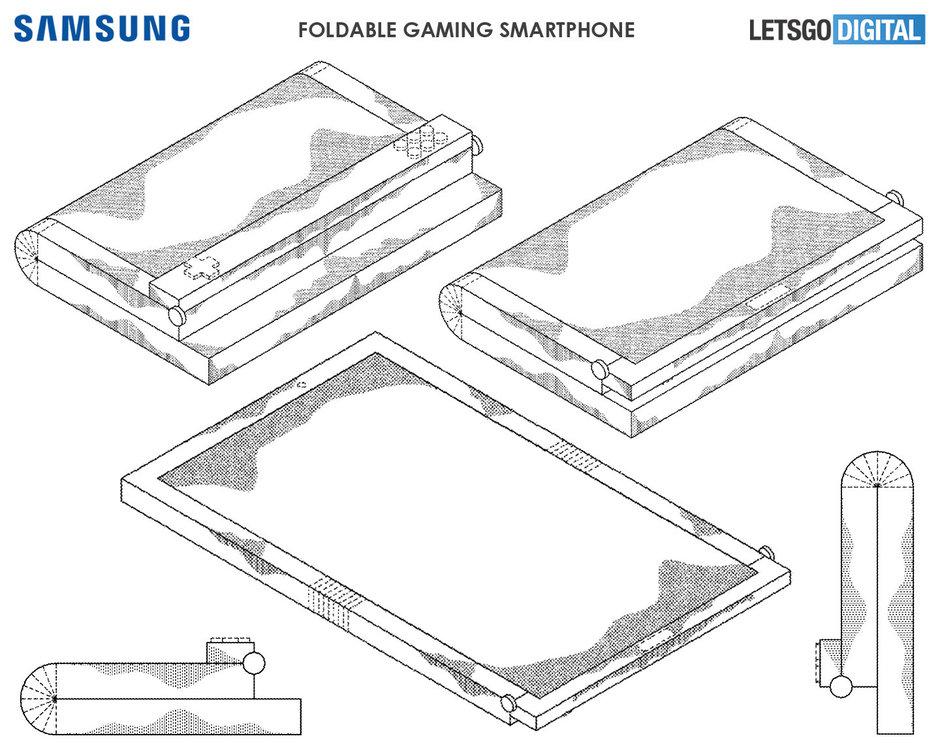 Παράξενη και τολμηρή gaming συσκευή ετοιμάζει η Samsung!