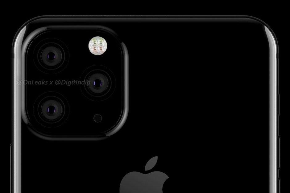 Mια ιδέα για το πίσω μέρος του νέου iPhone XI 2019 1