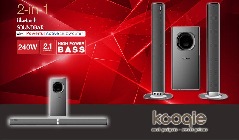 Εδώ σου έχουμε την τέλεια πρόταση για ηχοσύστημα Home Cinema με SoundBar και Subwoofer! 1