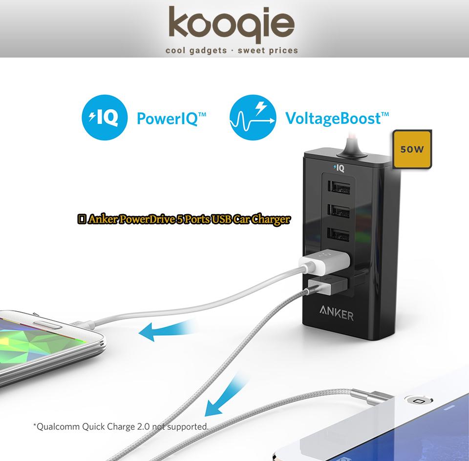 Απαραίτητο αξεσουάρ ο νέος φορτιστής Anker PowerDrive 5 40W! 1