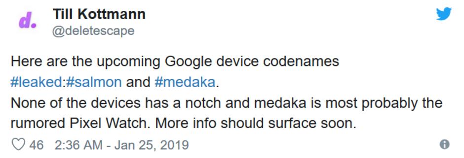 Kάτι ετοιμάζει η Google, ίσως το δικό της ρολόι; 1