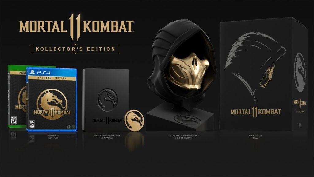 Για τους φανατικούς gamers, υπάρχει το Mortal Kombat 11: Kollector's Edition