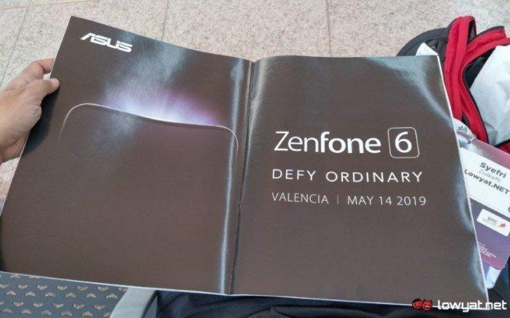 Το Asus Zenfone 6 θα ανακοινωθεί στις 14 Μαΐου 2