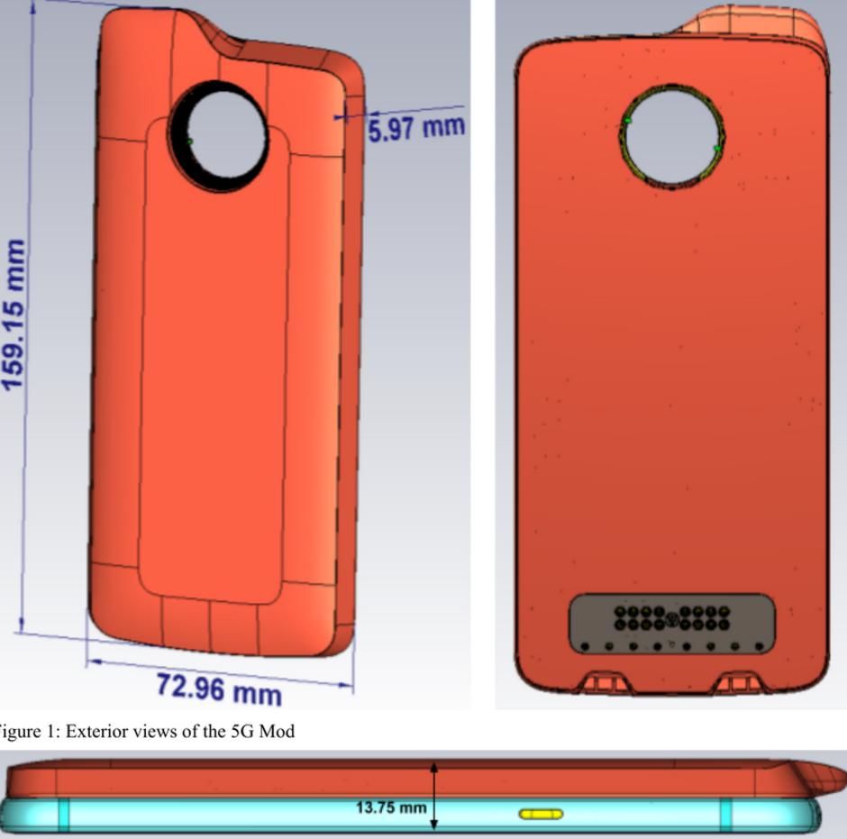 Μια επίσκεψη στην FCC αποκαλύπτει τα πάντα για το νέο 5G Moto Mod του Moto Z3 2