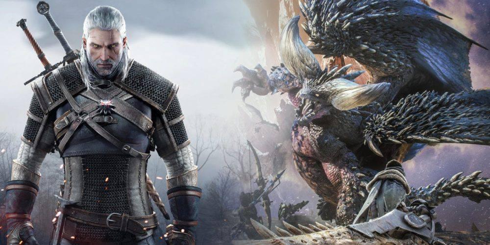 O Geralt της Rivia εισβάλει και στο Monster Hunter World! – Geekdom News